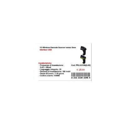 LETTORE 1D WIRELESS BARCODE SCANNER SENZA FILI LS5100