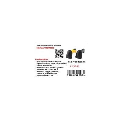 LETTORE BARCODE 2D - LS1200 2D QR-CODE