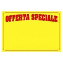 LOCANDINE OFFERTA SPECIALE F.TO A4 cf.200 ff ORIZZONTALE