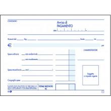 BLOCCO RICEVUTA CONDOMINIO 2 COPIE AUTOCOPIANTE 12 x 16,5 CM CF 5 PZ