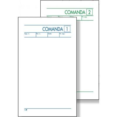 BUONI COMANDE 2 COPIE AUTOCOPIANTE 9,8 x 16,5 CM