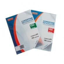 COPERTINA TRASPARENTE PVC A4 150 MIC