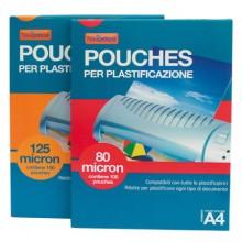 POUCHES 65X95 MIC 80 PER PLASTIFICAZIONE