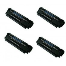 KIT 4 TONER HP Q2612A CANON FX10 Laserjet M1005 1018 1020 LBP3000 LBP2900