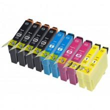 KIT 10 CARTUCCE XL PER EPSON T2991 2992 2993 2994 XP235 XP245 XP330 XP332 XP335