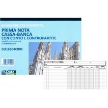 PRIMA NOTA CASSA BANCA DU16804C000 DATA UFFICIO