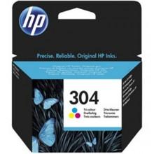 CARTUCCIA HP 304 COLORE ORIGINALE N9K05AE HP DeskJet 3720 - 3730 - 3732