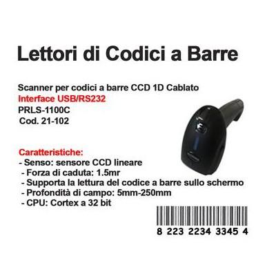LETTORE BAR CODE 1100C 1D ( LOTTERIA DELLO SCONTRINO )