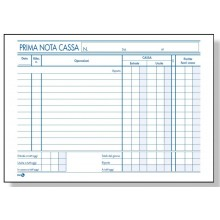 PRIMA NOTA CASSA 22X16 CM