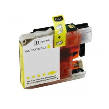 BROTHER LC121/LC123 YELLOW INKJET COMPATIBILE