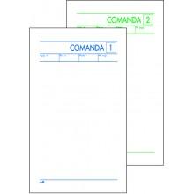 BUONI COMANDE 2 COPIE AUTOCOPIANTE 9,8 x 16,5 CM CF 10 PZ