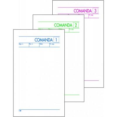 BUONI COMANDE 3 COPIE AUTOCOPIANTE 9,8 x 16,5 CM CF 10 PZ